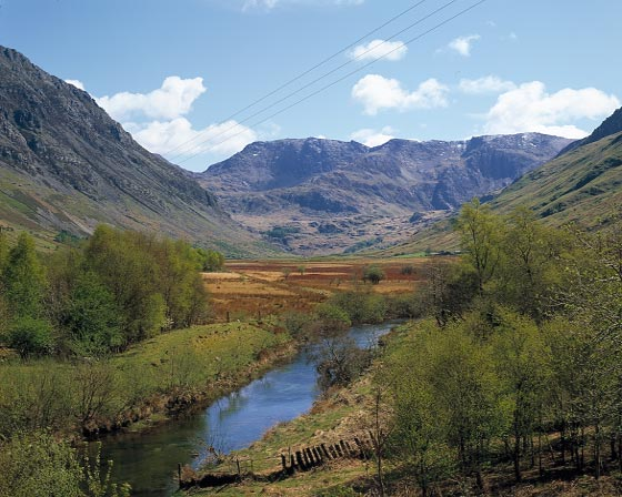 View up Nant Ffrancon
