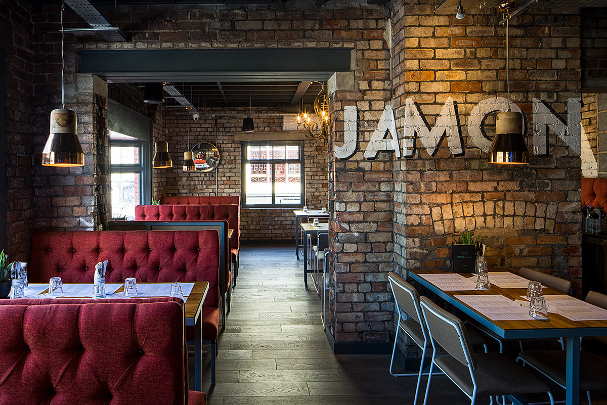 Neon Jamon Berry St Liverpool
